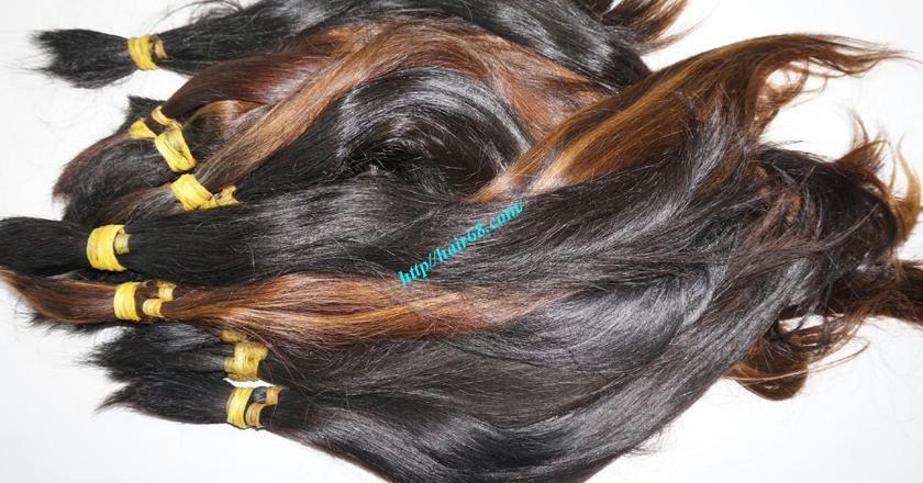 14 inch cheap human hair straight single drawn 1