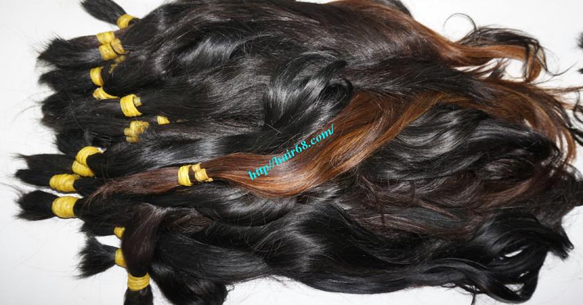 14 inch cheap human hair straight single drawn 2