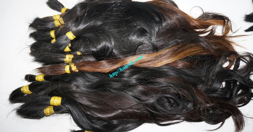 14 inch cheap human hair straight single drawn 3