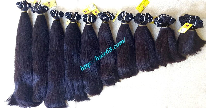 14 inch straight weave hair super double 5