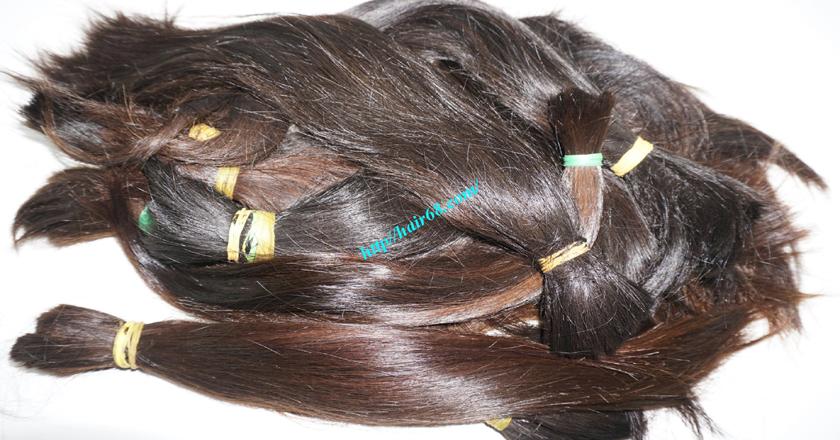 16 inch cheap human hair straight double drawn 2