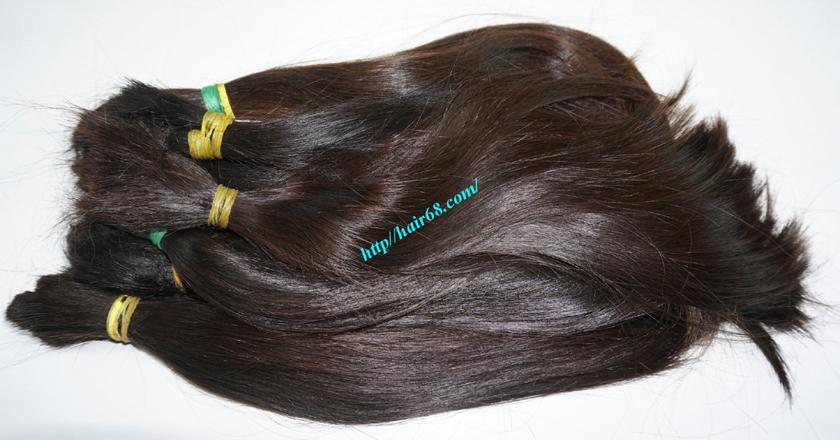 16 inch cheap human hair straight double drawn 5