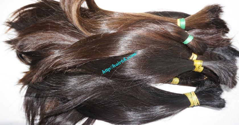 16 inch cheap human hair straight single drawn 1