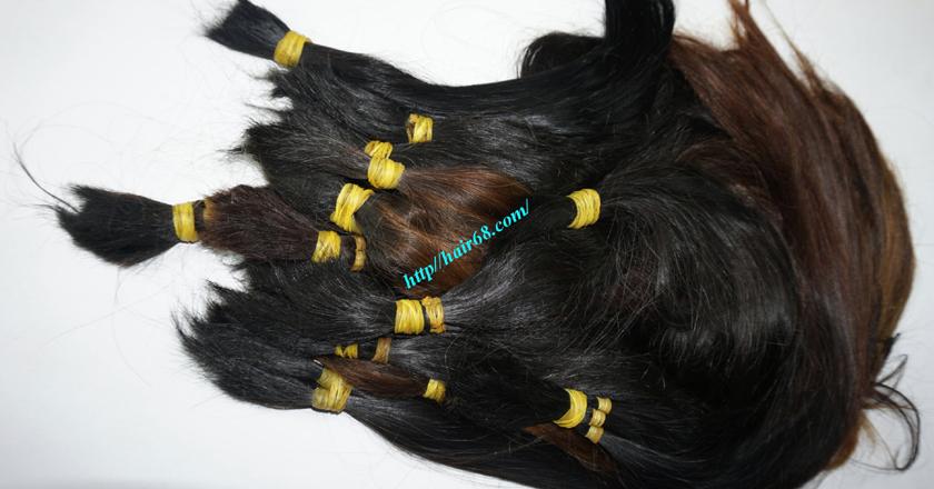 16 inch cheap human hair straight single drawn 2