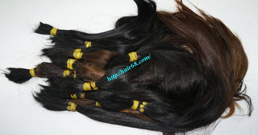 16 inch cheap human hair straight single drawn 5