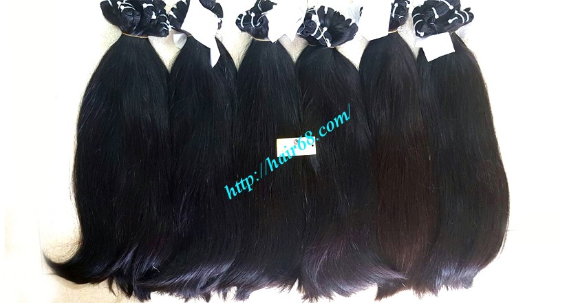 16 inch straight weave hair super double 4