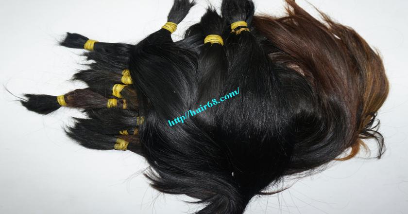 18 inch cheap human hair straight single drawn 2