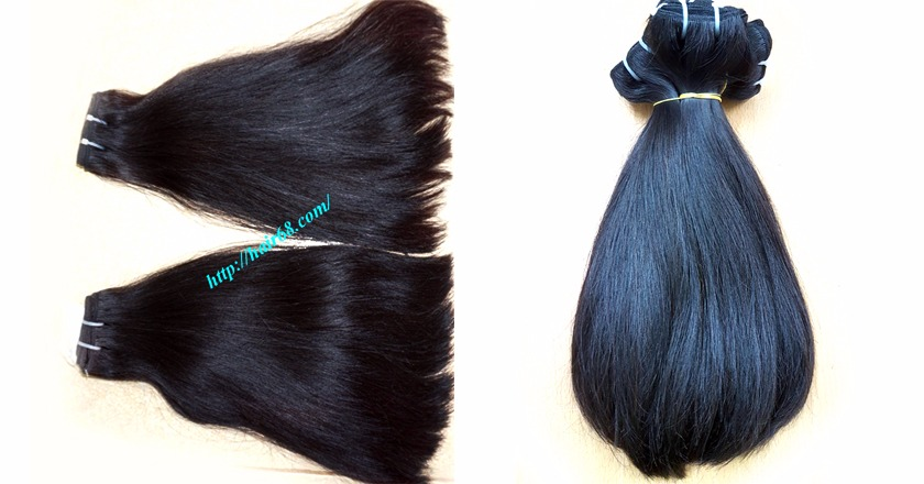 20 inch straight weave hair super double 1