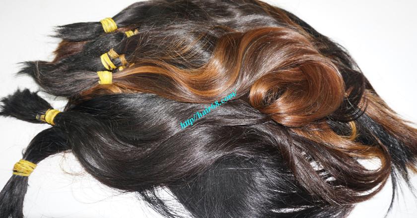 8 inch cheap human hair straight single drawn 1