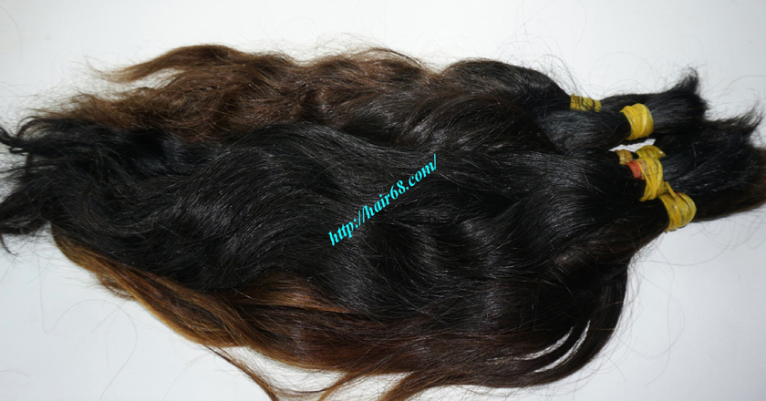 8 inch cheap human hair wavy double drawn 1