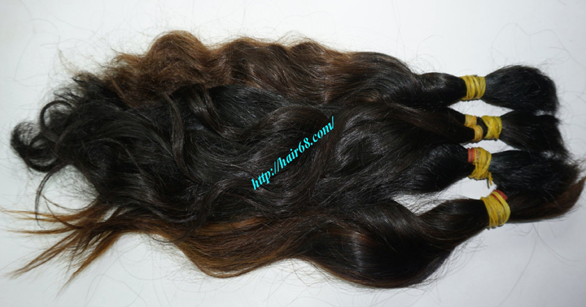 8 inch cheap human hair wavy double drawn 2