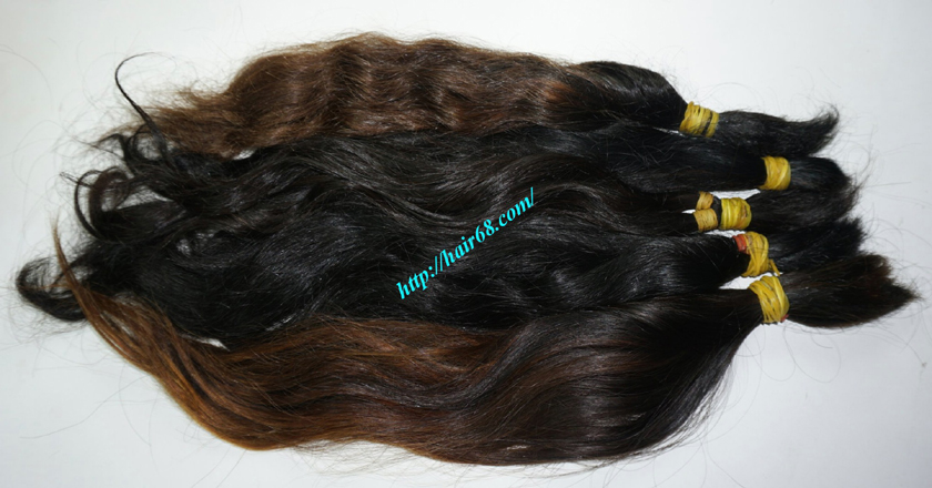 8 inch cheap human hair wavy double drawn 3