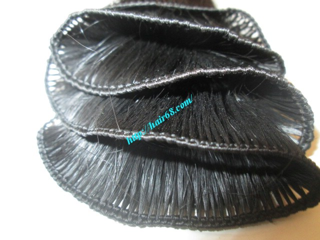 20 inch hand tied weft straight single drawn 1