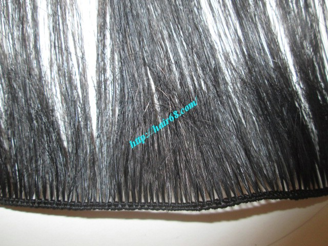 20 inch hand tied weft straight single drawn 2