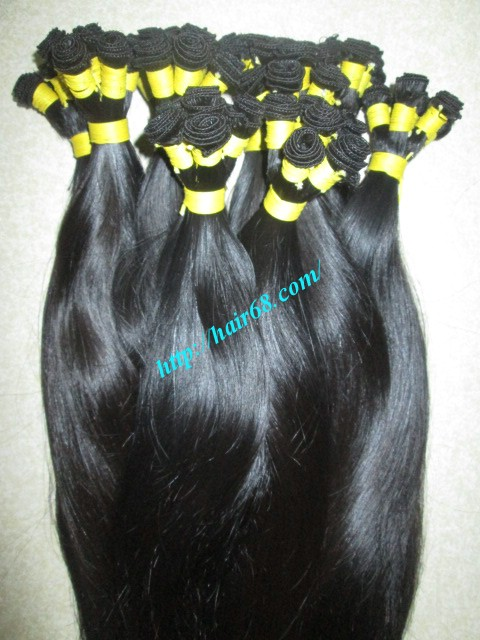 20 inch hand tied weft straight single drawn 5