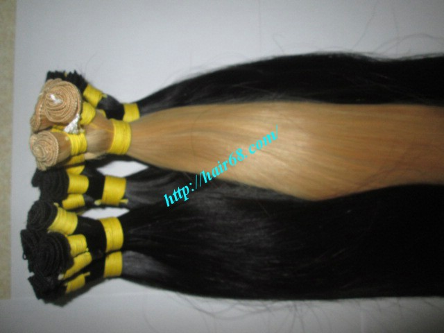 20 inch hand tied weft straight single drawn 6