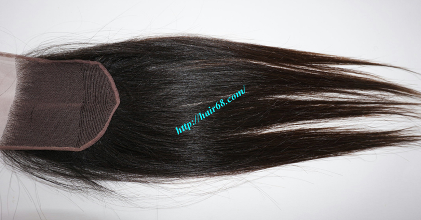 22 inches Free Part Lace Closure Vietnamese Hair 1