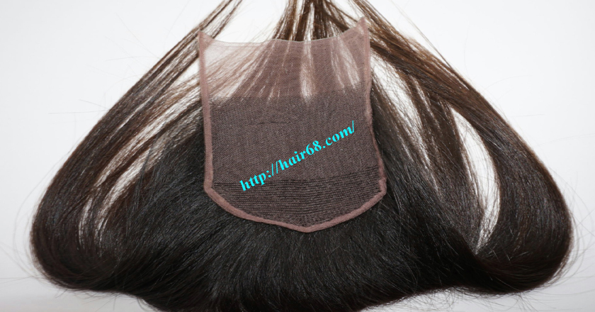 22 inches Free Part Lace Closure Vietnamese Hair 3