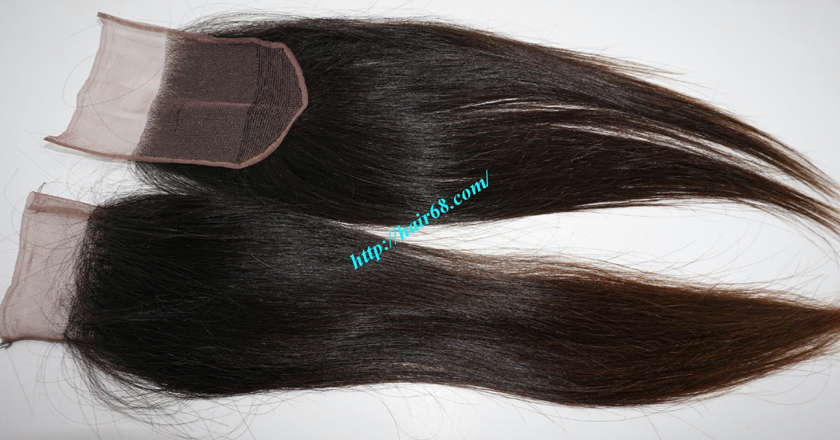 22 inches Free Part Lace Closure Vietnamese Hair 4