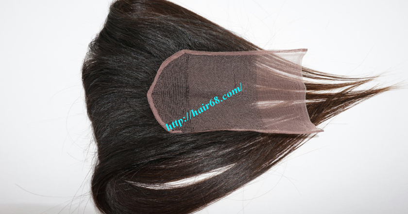 22 inches Free Part Lace Closure Vietnamese Hair 5