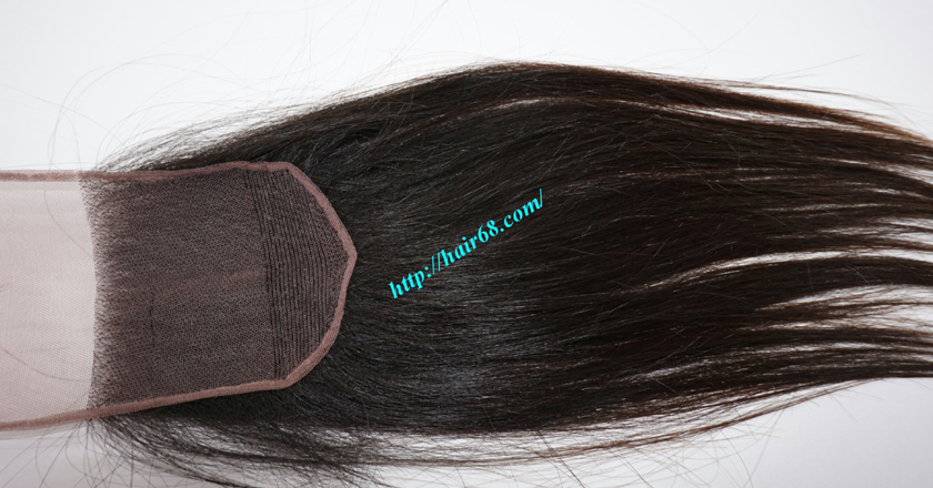22 inches Free Part Lace Closure Vietnamese Hair 7