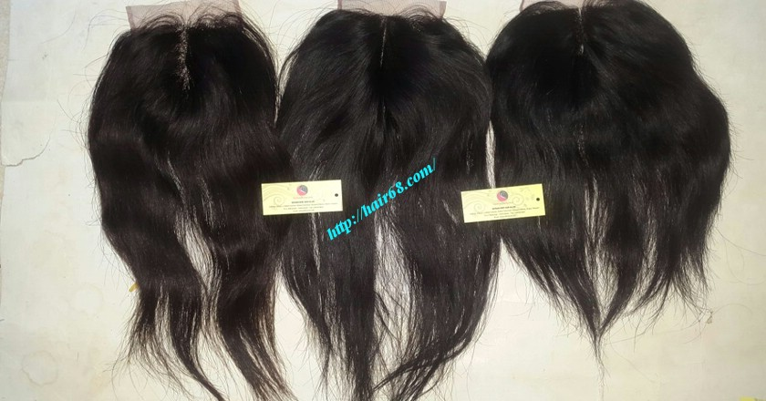 16 inch Vietnamese Hair Middle Lace Closure 1