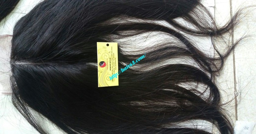 16 inch Vietnamese Hair Middle Lace Closure 5