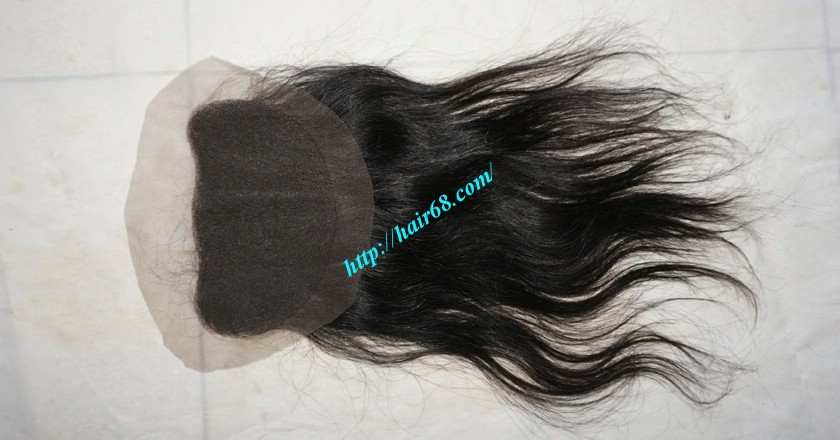 Free Part Lace Closure 7x4 12 inches Vietnamese Straight Hair 2