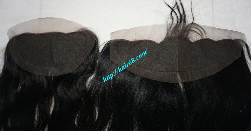 Free Part Lace Closure 7x4 12 inches Vietnamese Straight Hair 4