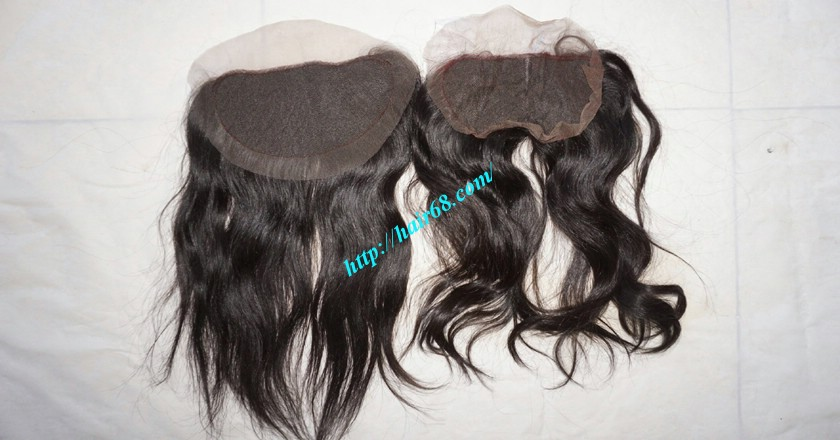 Free Part Lace Closure 7x4 12 inches Vietnamese Straight Hair 5