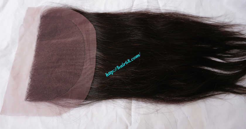 16 inch Vietnamese Hair Lace Frontal 5