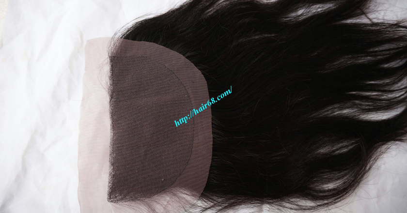 Free Part Lace Closure 7x4 18 inches Vietnamese Straight Hair 7