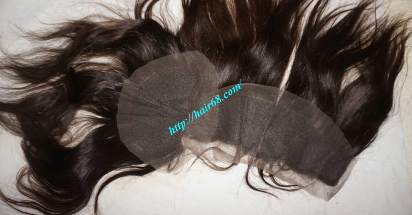 14 inches Free Part Lace Frontal  Vietnamese Straight Hair 3