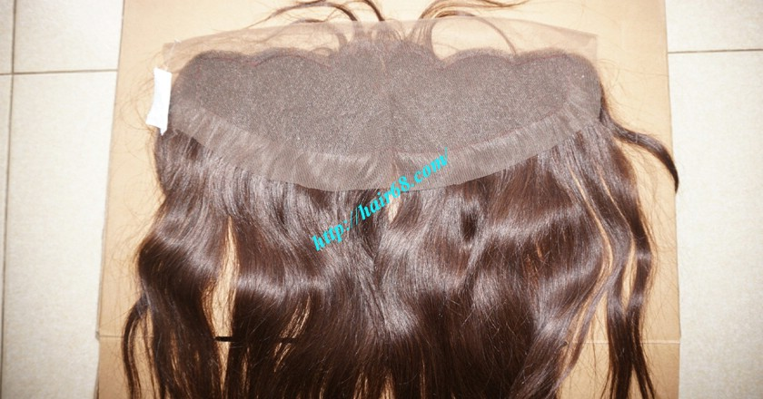 14 inches Free Part Lace Frontal  Vietnamese Straight Hair 4