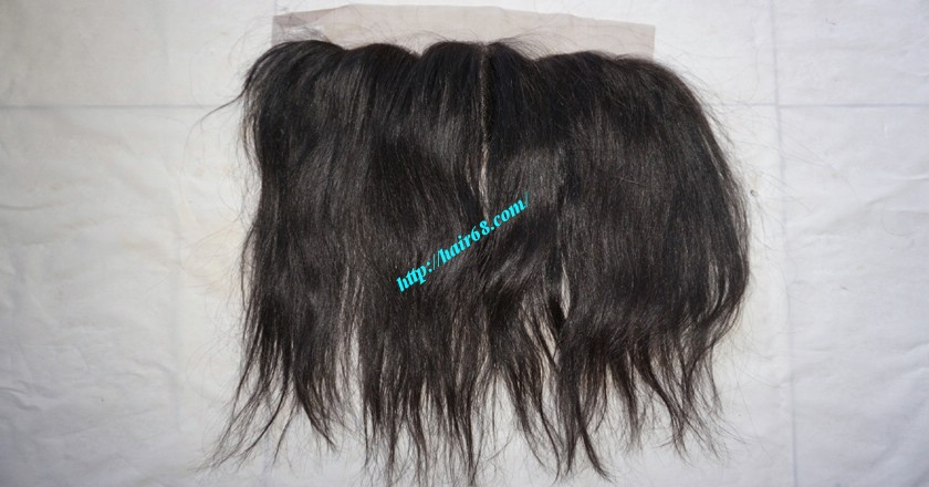 16 inches Free Part Lace Frontal Vietnamese Hair 3