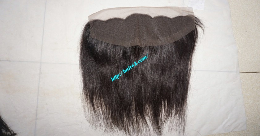 16 inches Free Part Lace Frontal Vietnamese Hair 4