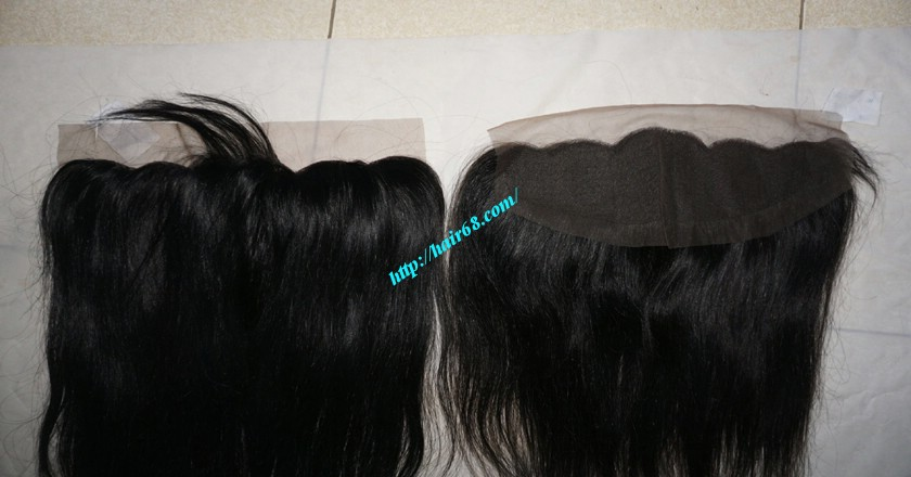 22 inches Free Part Lace Frontal Vietnamese Hair 3