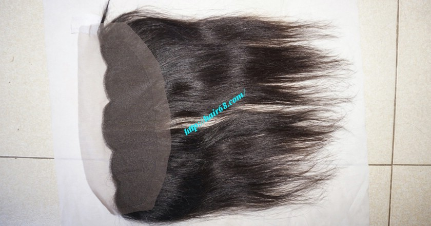 22 inches Free Part Lace Frontal Vietnamese Hair 7