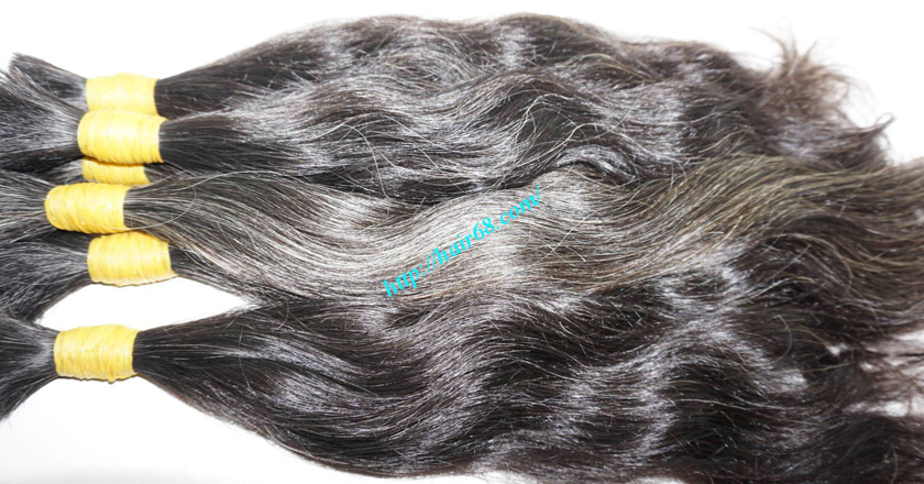 grey human hair extensions 5