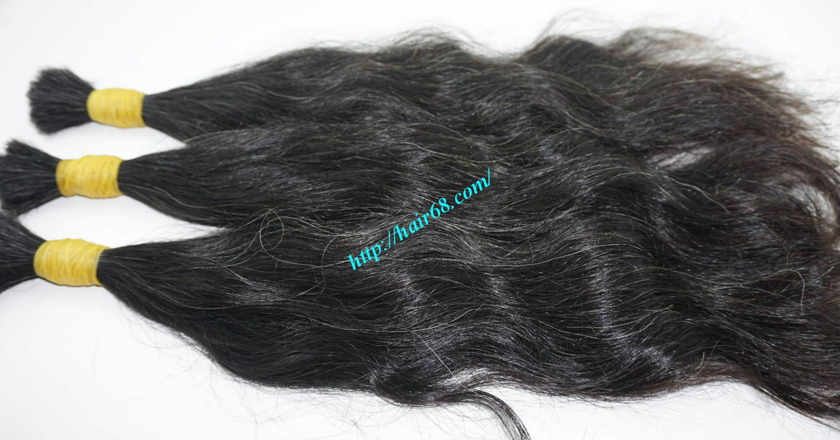 grey human hair extensions 6
