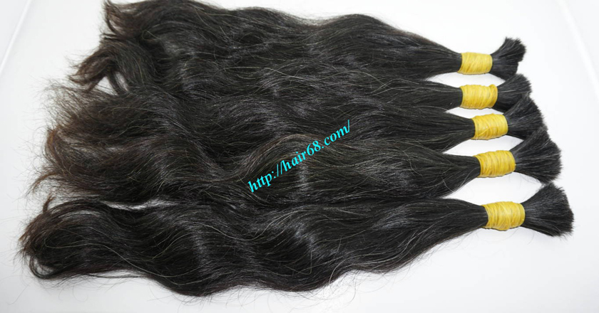 grey human hair extensions 7