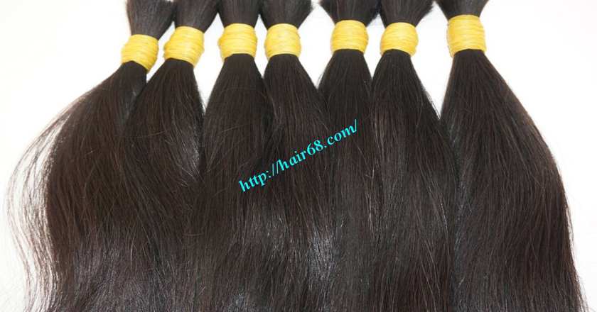 10 inch good quality hair extensions 2