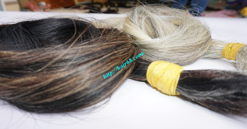 12 inch hair extensions for grey hair 2