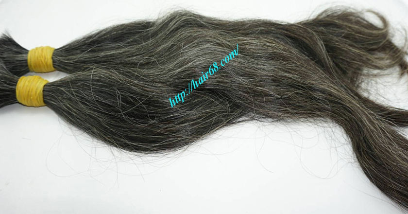 12 inch hair extensions for grey hair 3