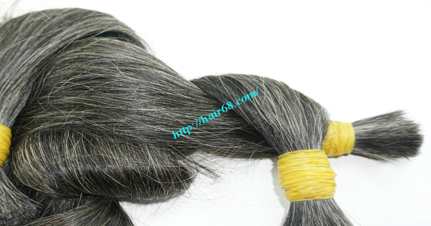 12 inch hair extensions for grey hair 4