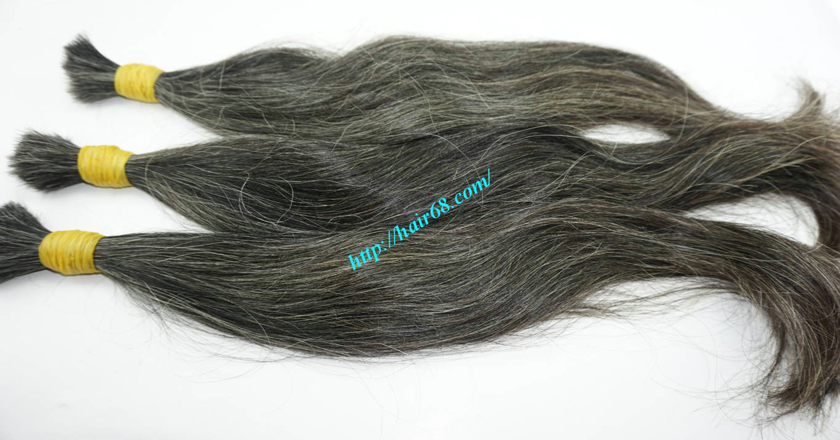12 inch hair extensions for grey hair 6