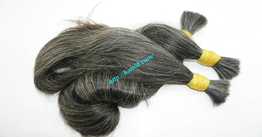 12 inch hair extensions for grey hair 7