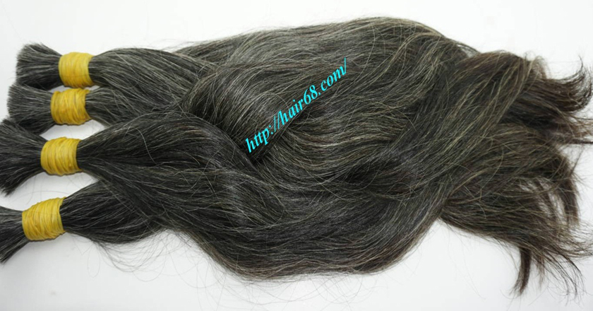 12 inch hair extensions for grey hair 8