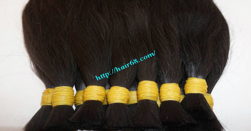 12 inch real human hair extensions 1