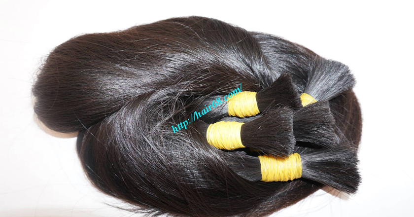 12 inch real human hair extensions 2
